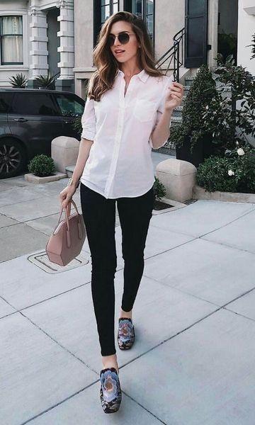 camisa mangas cortas y leggins