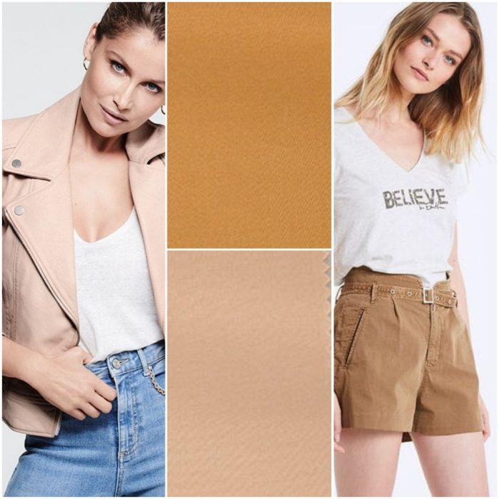 tonos beige tendencias en colores verano 2021