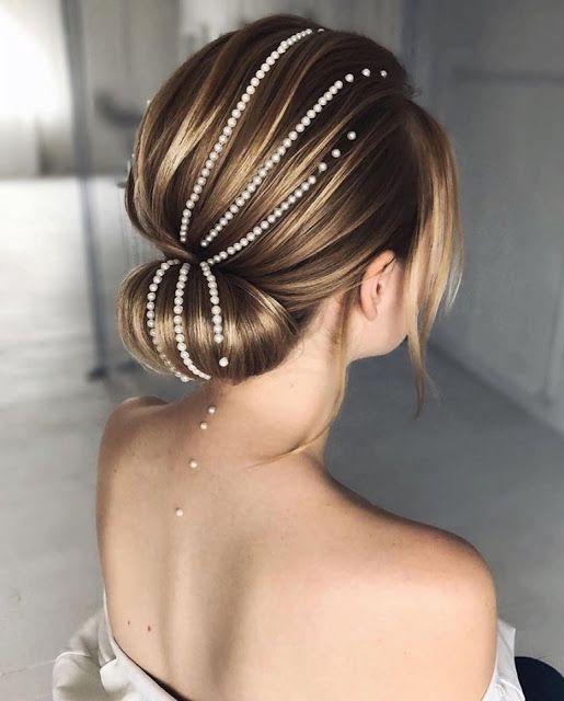 accesorios con joyas para el cabelllo