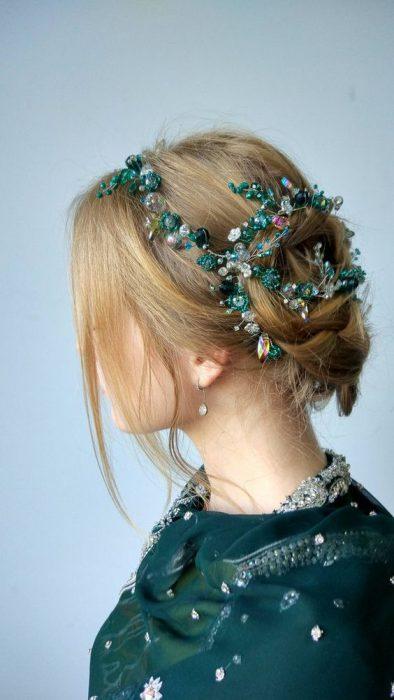 accesorios de moda joyas para el pelo