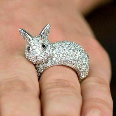 anillo conejo