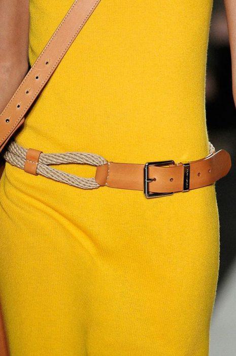 cinturon de cuerda
