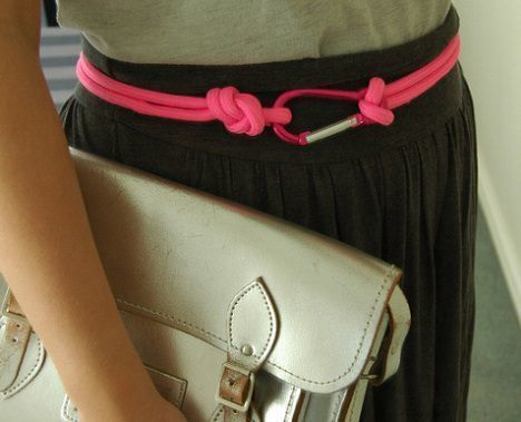 cinturon moderno juvenil de cuerda