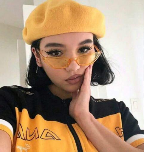 gafas amarillas transparentes