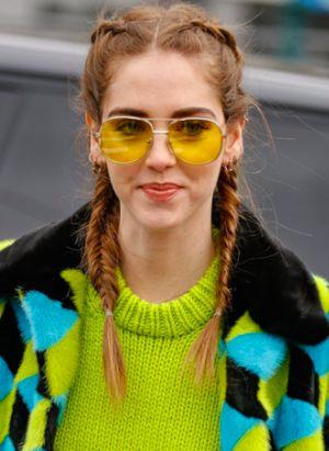 gafas lentes amarillos