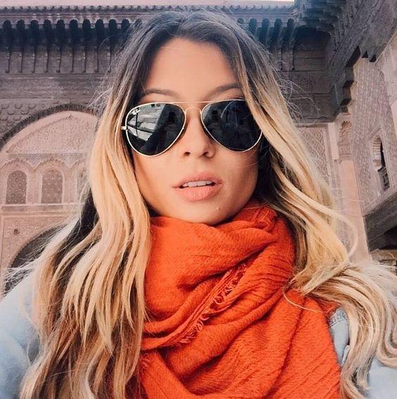 gafas para mujer estilo aviador