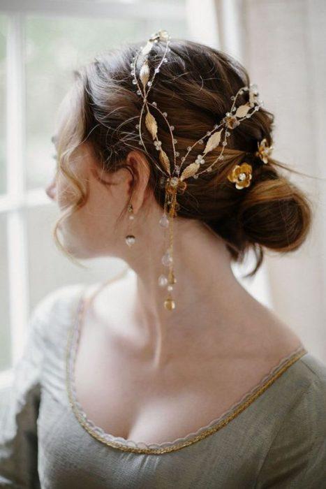 joyas para el cabello