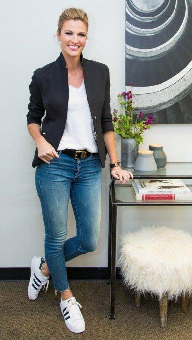 outfit primavera con jeans