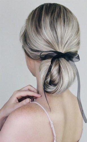 peinado con cinta para el cabello