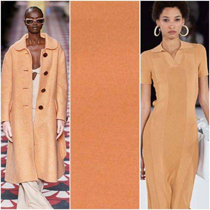 Arenisca color de moda otoño invierno 2021