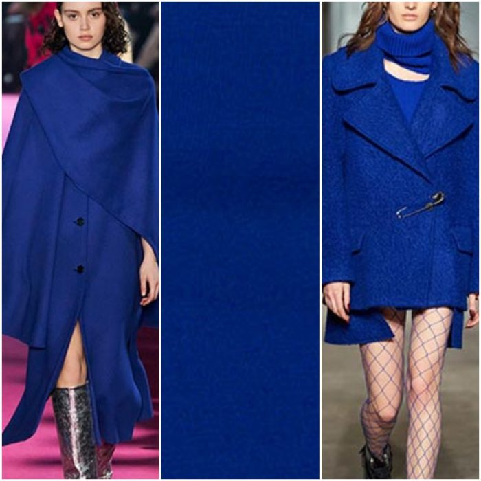 Azul Clasico color de moda otoño invierno 2021