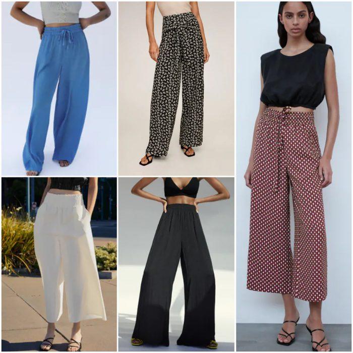 Pantalones sueltos Moda mujer verano 2021