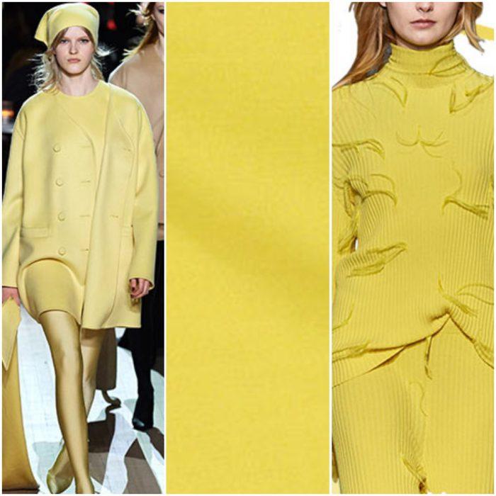 amarillo apio color de moda otoño invierno 2021