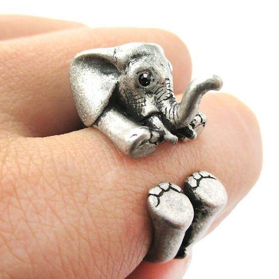 anillo de elefante