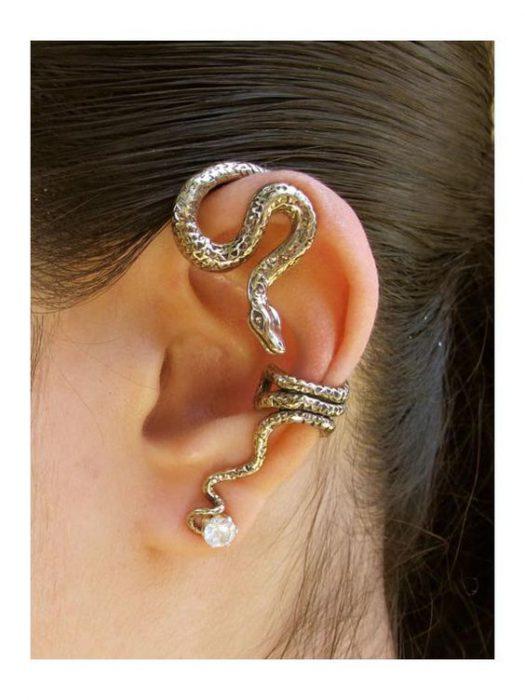aplique para oreja de serpientes