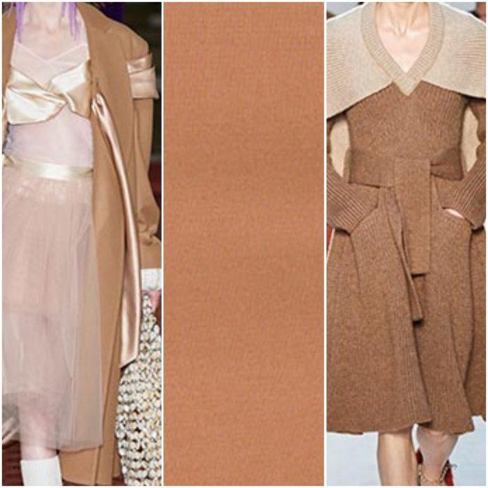 arena rosa color de moda otoño invierno 2021