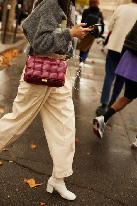 carteras acolchadas moda invierno 2021