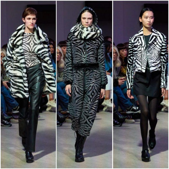 cebra animal print de moda invierno 2021
