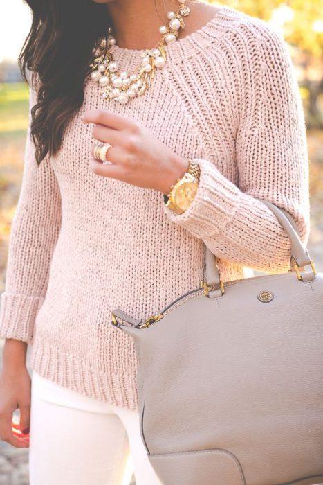 colgantes y anillos con perlas accesorios invierno 2021