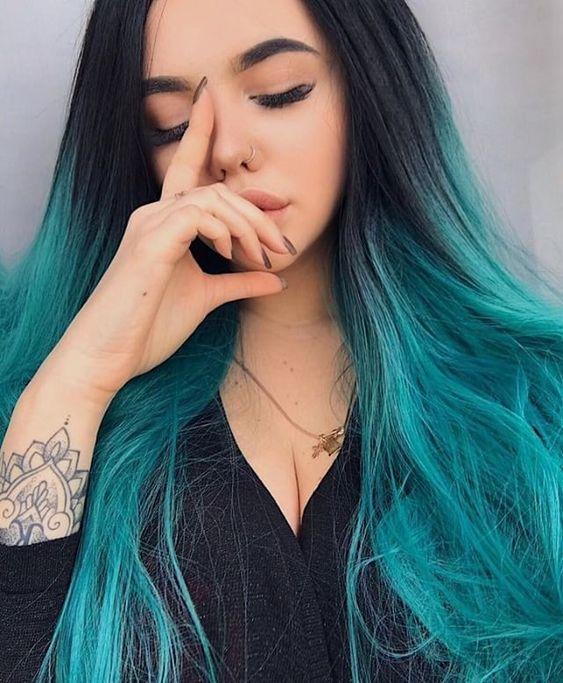 colores vibrantess para el cabello