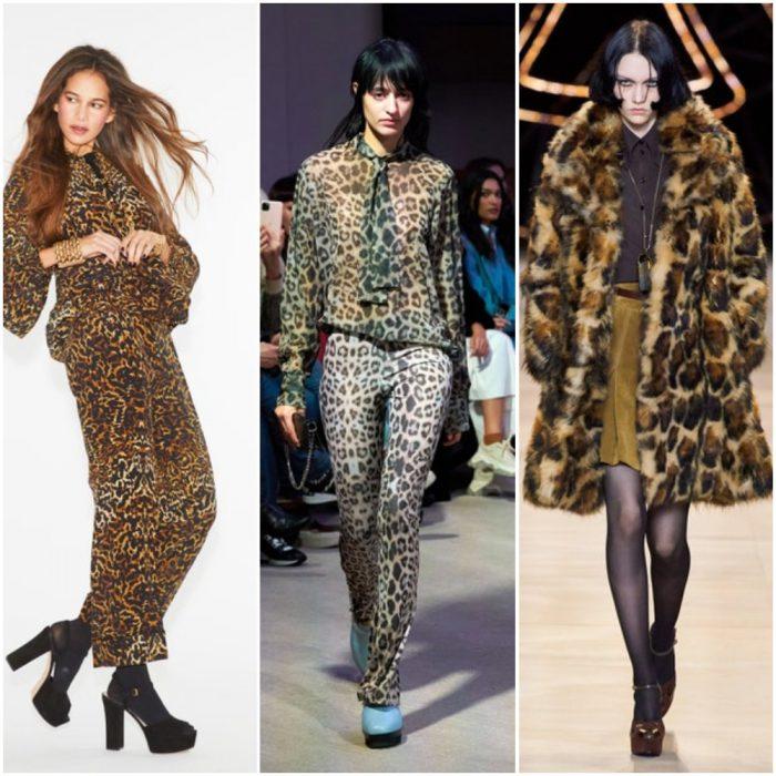 leopardo estmapa de moda otoño invierno 2021