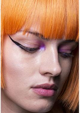 maquillaje alado negro largo verano 2021
