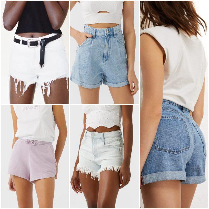 micro short Moda mujer verano 2021