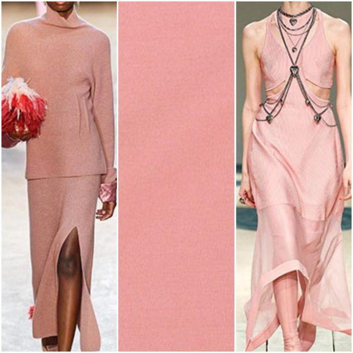 rosa color de moda otoño invierno 2021