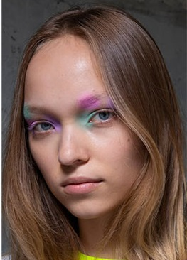 sombras ojos multipastel maquillaje juvenil verano 2021