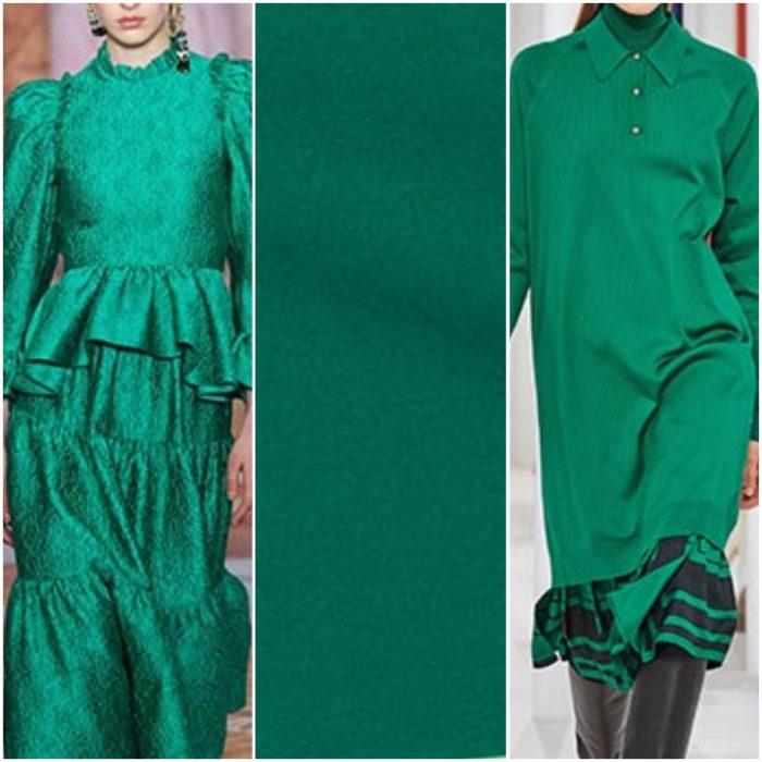 verde color de moda otoño invierno 2021