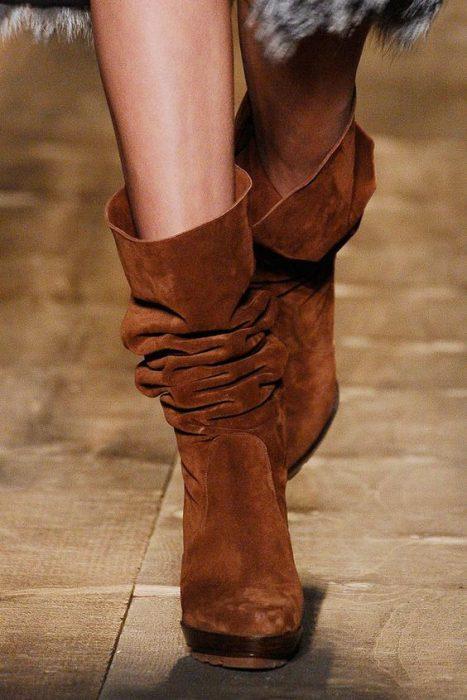botas arrugadas moda invierno 2021