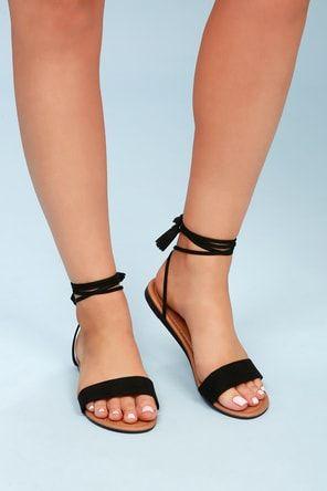 sandalias con tira fina nudo verano 2021