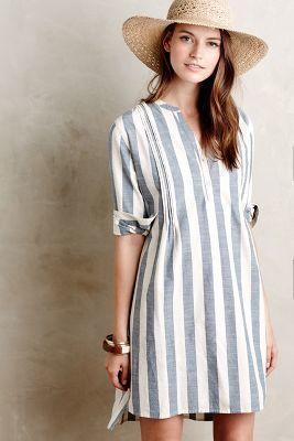 vestido corto estilo camisola verano
