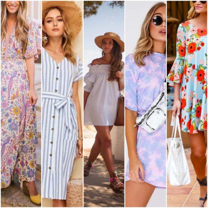 vestidos casual para el verano