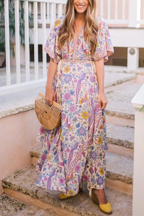 vestidos largos casual verano