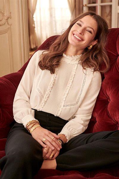 blusa estilo victoriana look
