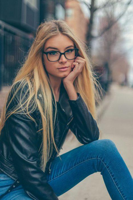 lentes cabello lacio
