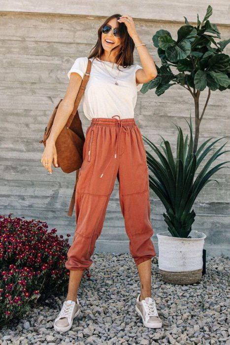 pantalon de lino colores