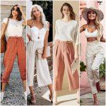 pantalon de lino mujer