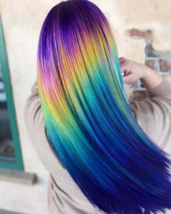 cabello holografico lacio