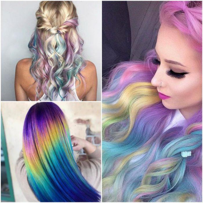 cabello holografico