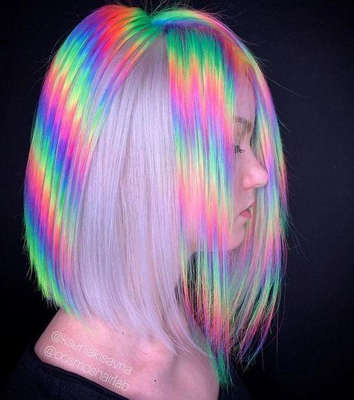 mechas holograficas