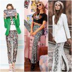 outfit con pantalon animal print