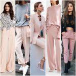 outfit pantalon rosa mujer