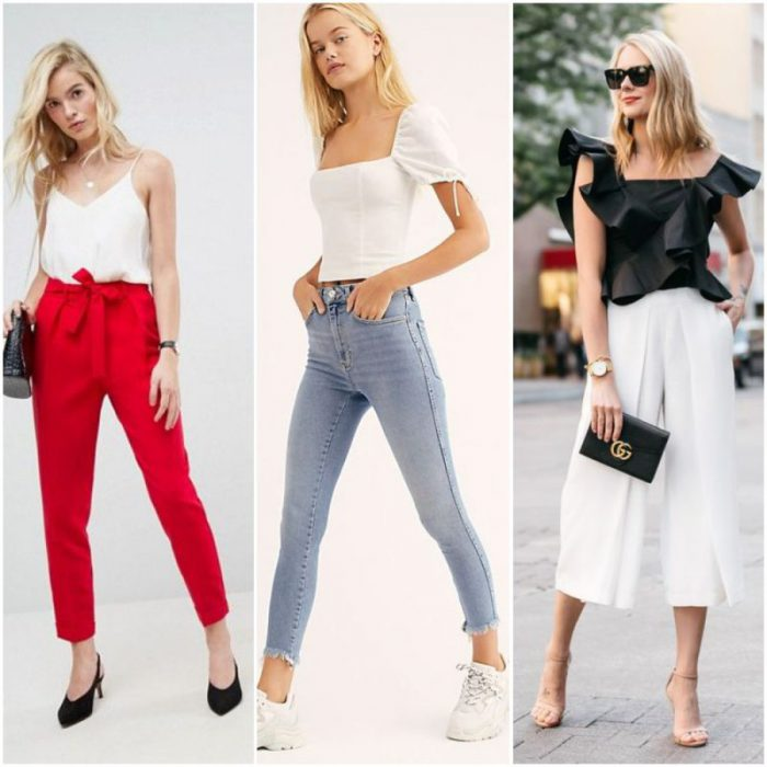 outfit con pantalon capri