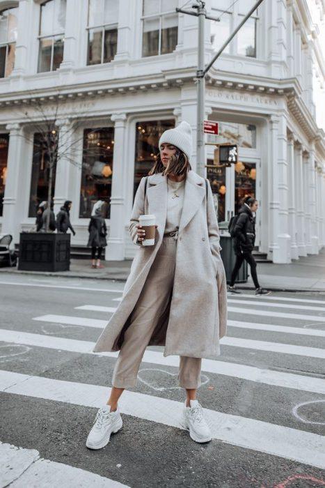 pantalon y tapado crudo invierno