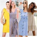 vestidos de lino para el verano