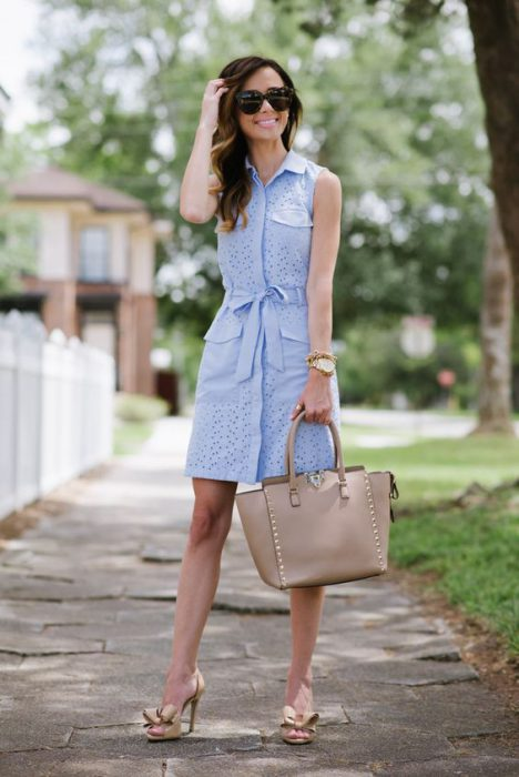 vestidos para ir a la oficina en verano