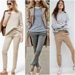Outfits con pantalones chinos para mujer