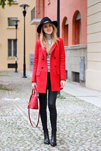 saco de pano rojo